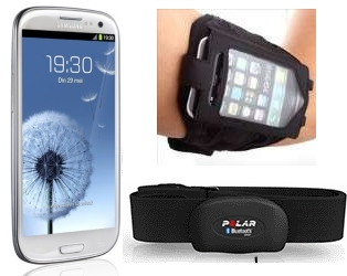 Armband voor de Galaxy S3 voor het sporten